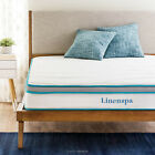 LINENSPA 8 inch Innerspring and Memory Foam Hybrid Mattress - 10 YEAR WARRANTY