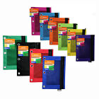 BAZIC Multipurpose Zipper Pen Pencil Pouch For 3-Ring Binders Assorted Colors