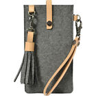 Sherpani Livi Wool & Leather Large Phone Case 2 Colors Electronic Case NEW