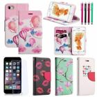 Luxury PU Leather Stand Case Cover+Tempered Glass Film+Pen For iPhone 7 & 7 Plus