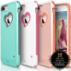 For iPhone 8 Plus 7 Plus Vena【vLove】Hybrid Shockproof Case Cover Girl Cute Pink
