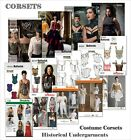 Butterick Sewing Patterns Misses Renaissance Medieval Steampunk Corsets Lingerie