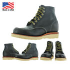 """Chippewa 6"""" Mocc Toe Wedge Carpenter Work Boots Made in USA Wide Width"""