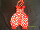 Red Bow detail Bodysuit/Romper, Red  baby Romper/Playsuit....0-3mths