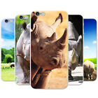 African Rhinoceros Rhino Snap-on Hard Back Case Phone Cover for Apple Phones