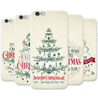 Elegant Vintage Christmas Greetings Hard Case Phone Cover for Apple Phones