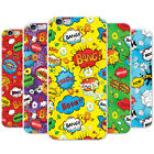 Comic Action Bubble Adjective Wallpaper Hard Case Phone Cover for Apple Phones