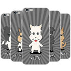 Scottish Cartoon Dogs Snap-on Hard Back Case Phone Cover for Apple Mobile Phones