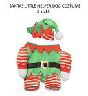 ROSEWOOD SANTAS LITTLE HELPER CHRISTMAS ELF DOG PUPPY COSTUME DRESS UP 3 SIZES
