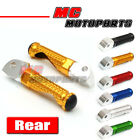 CNC MPRO Rear Foot Pegs For Ducati Hypermotard 796 821 1098 1198 Streetfighter