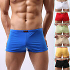 Men's Sexy&Smooth Underwear Boxer Briefs Penis Pouch Shorts Trunks Hipster Panty