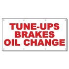 Tune-Ups Brakes Oil Change Red Auto Car Repair Shop Vinyl...