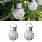 Solar Ball Garden Hang Outdoor Landscape Color Change LED Lamp Walkway Light Hot
