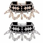 Crystal Rhinestone Choker Fashion Women Full Diamond Necklace Wedding Jewellery
