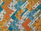 WOODLAND ~ COTTON FABRIC PATCHWORK SQUARES PIECES CHARM PACK 4 5 INCH