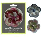 Earth Squared Tweed Flower Clip and Pin Brooch Corsage in a choice of colours