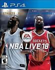 NBA LIVE 18 SONY PLAYSTATION 4 BRAND NEW SHIPS SAME OR NEXT DAY!