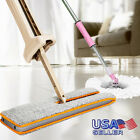 360° Degree Double-Side Flat Mop Hands-Free Washable Mop Lazy Home Cleaning Tool