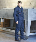 Dickies Lined Coverall Quilted Warm WD2360R Colours Waterproof Three BLUE PADDED