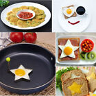 1Pair Stainless Steel Pancake Mould Mold Ring Fried Egg Cooking Shaper Gadgets