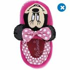 NWT Disney Pink Minnie Mouse Slippers Toddler girls size XL 11/12