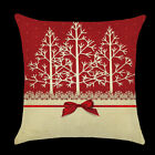Christmas Vitnage Tree knot Throw Pillow Cover Cushion Cover Case Room Car Decor