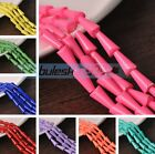 10~50pcs 16X8mm Pagoda Shape Faceted Loose Spacer Glass Beads Charms Pendants