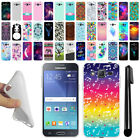 "For Samsung Galaxy J2 J200 4.7"" 1st Gen TPU SILICONE Protective Case Cover + Pen"