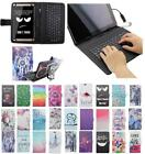 For Asus ZenPad S 8.0 Z580CA 580C USB Andriod Tablet Keyboard Case Cover Flip