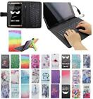 For Lenovo Tab 3 7 TB3 730F 730M USB Andriod Tablet Keyboard Case Cover Flip
