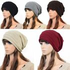 Kyпить NEW Unisex Womens Mens Knit Baggy Beanie Beret Hat Winter Warm Oversized Ski Cap на еВаy.соm
