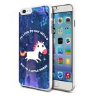 Cute Unicorn 07 - Design Shockproof Hard Case Cover For Mobiles