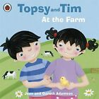 Topsy and Tim: At the Farm by Adamson, Jean Paperback Book The Fast Free