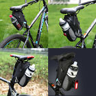 Bicycle Saddle Rear Bag Water Bottle Seat Bag for Outdoor Cycling Pouch