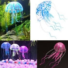 Silicone Artificial Fish Tank AquariumGlowing Effect Jellyfish Ornament Water