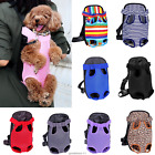 Pet Puppy Dog Cat Nylon Mesh Backpack Carrier Front Net Bag Tote Sling Carrier