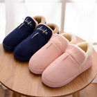 Adults Unisex Lovers Indoor Slippers Winter Warm Breathable Shoes Home Anti-slip