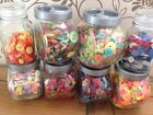 Assorted Buttons - BRIGHT MIXES Neon -**NEW SELECTION**-Buy 3 bags,Get 4th FREE