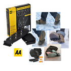 Snow Ice Grips Grippers Winter Over The Shoes Boots Universal Metal Spikes Studs