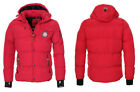 Canadia Peak Geographical Norway Herren Winter Jacke Parka warm gefüttert Jacke