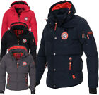 Geographical Norway Herren WinterJacke VERVIEN Winter Parka warm gefüttert Jacke