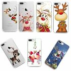 Christmas Pattern Soft Silicone TPU Case Cover For iPhone 8 7 6s Samsung S8 Plus