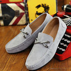 Men's Casual Driving Moccasin Loafer Soft Suede Leather Slip On Work Shoes HOT