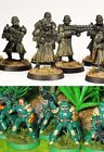 Plastic 28mm Sci Fi Figures new WGF I-Kore Non Games Workshop