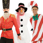 Mens Christmas Fancy Dress Xmas Festive Winter Wonderland Holiday Adults Costume