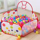 Portable Kids Toy Ocean Ball Pit Pool Indoor Outdoor Game Play House Tent Hut US