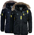 Geographical Norway warme Herren Winter jacke Parka Anorak Outdoor Mantel Arcos