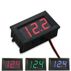 Внешний вид - Mini LED 3-Digital Display Volt Voltage Voltmeter Panel Accurate Meter 4.5-30V