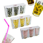 3/6/12 Drinking Glasses 300ml Party Juice Tumbler Dinner Vodka Bar Shot Highball