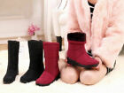 Fashion Women's Winter Warm High Ankle Snow Boots